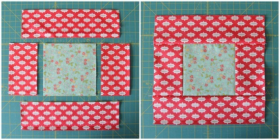 Squares and Strips Bed Quilt | Cluck Cluck Sew : 6 fat quarter quilt patterns - Adamdwight.com
