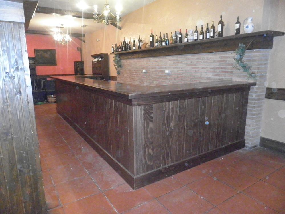Barra de bar a medida  Muebles Cansado (Zaragoza)  Carpintero
