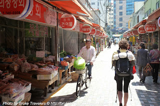 Backpacking South Korea