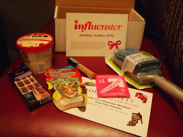 Influenster Holiday VoxBox 2012