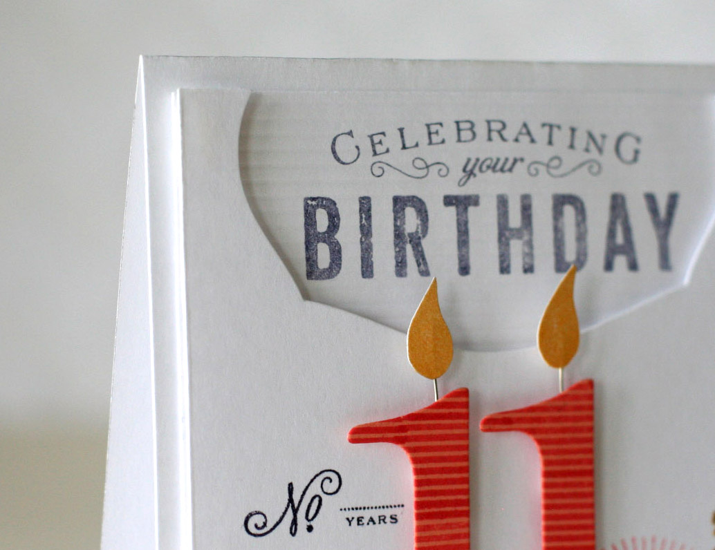 Notable Nest Girls 11th Birthday PTI Blog Hop – 11th Birthday Cards