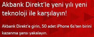 akbank direkt iphone