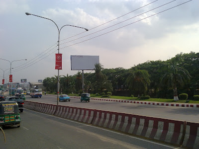 Airport Road, Dhaka city
