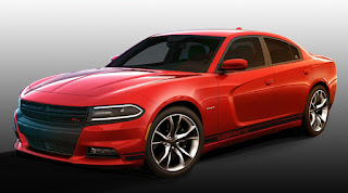 Dodge Charger R/T With Mopar '15 Performance Kit (2015 Rendering) Front Side