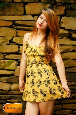 Hot Nepali Model Anissa Gurung Sexy Figure