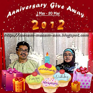 Ann Anniversary Give Away 2012