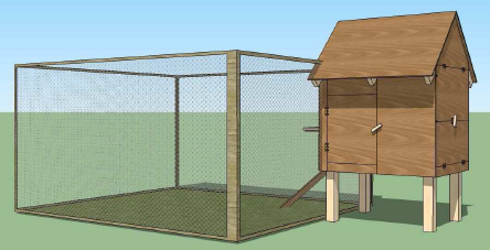 how to make a hen coop