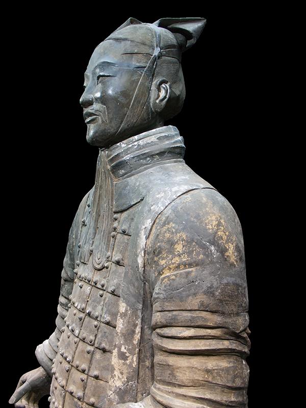 Un général en terre cuite à Xi'an