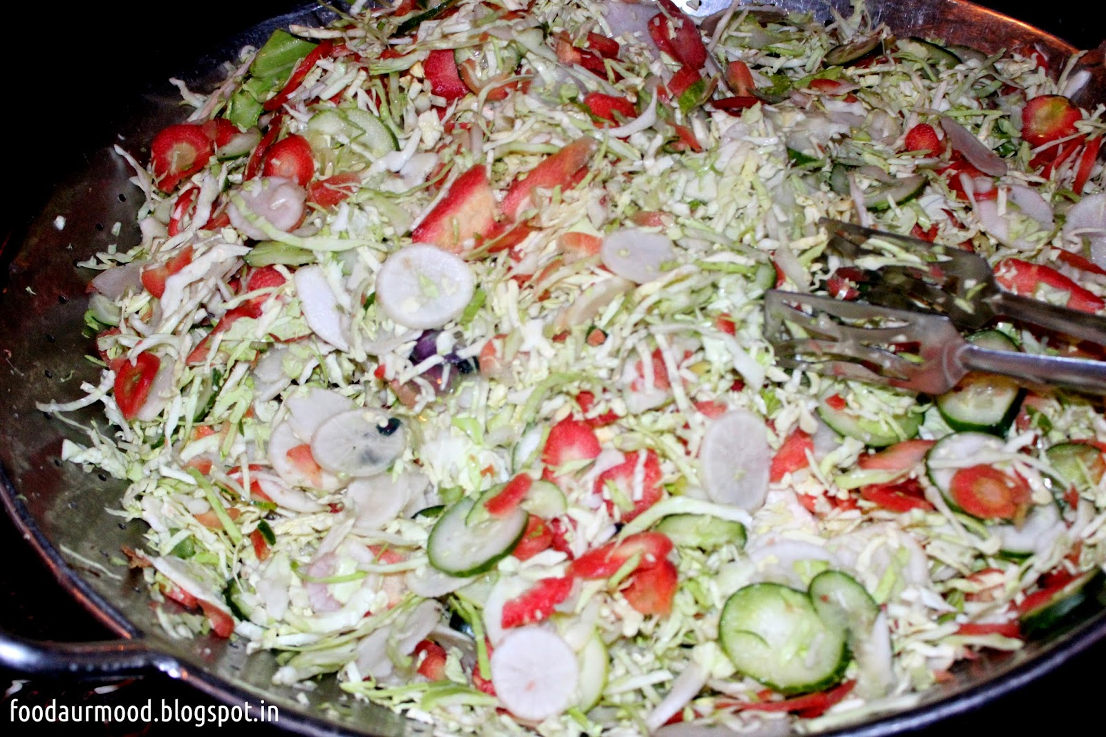 Chowki Dhaani, Salad