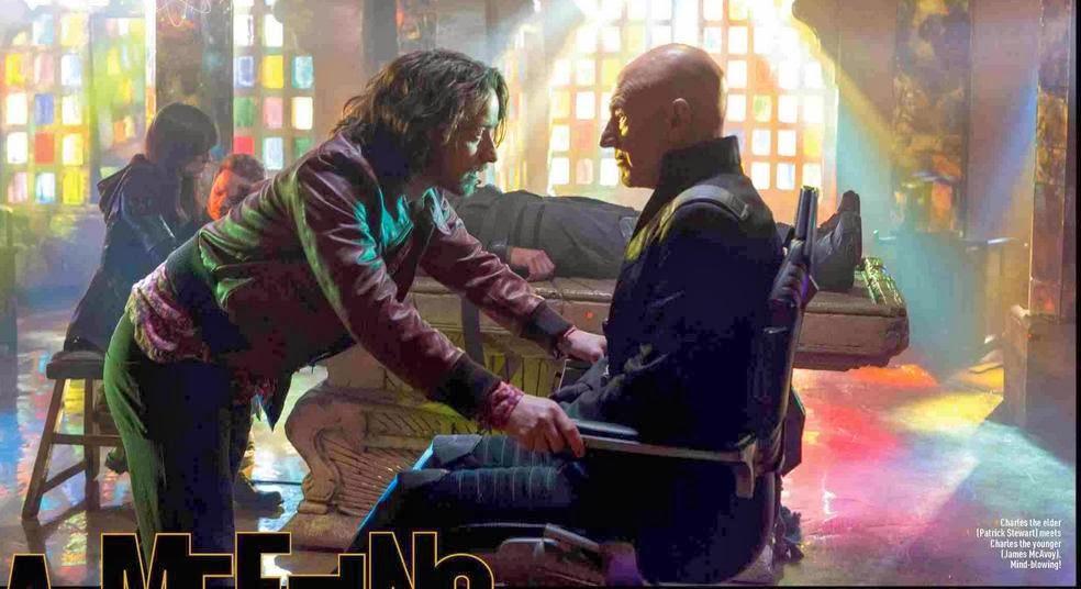 Duelo de dos Charles Xavier por el Futuro más prometedor en X-Men: Días del Futuro Pasado