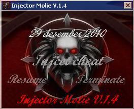 Release Injector Molie V.1.4 update 29122010