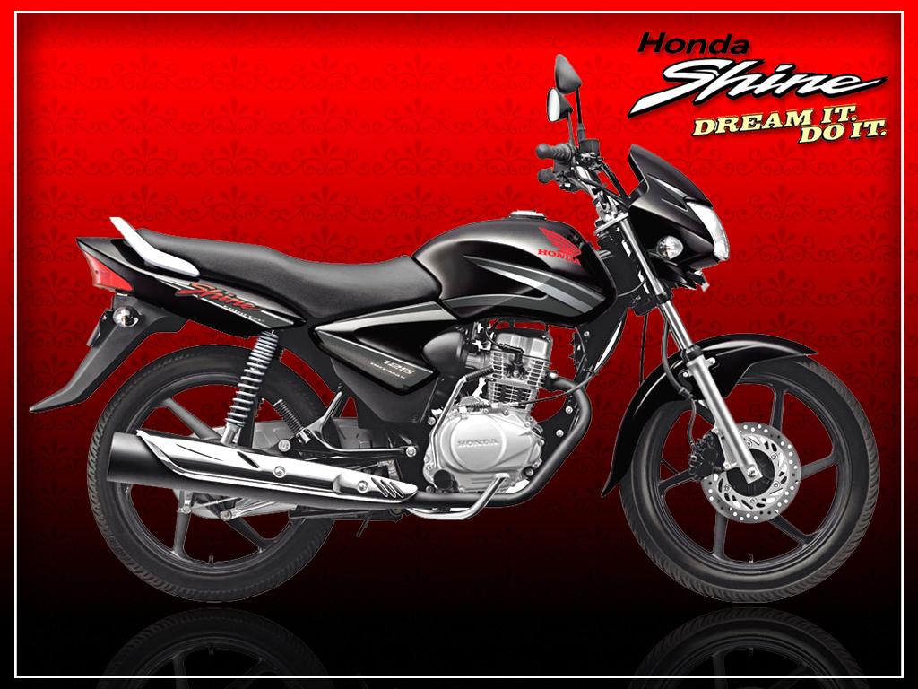 Honda shine the bikes gallery