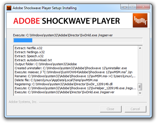 how to update adobe shockwave