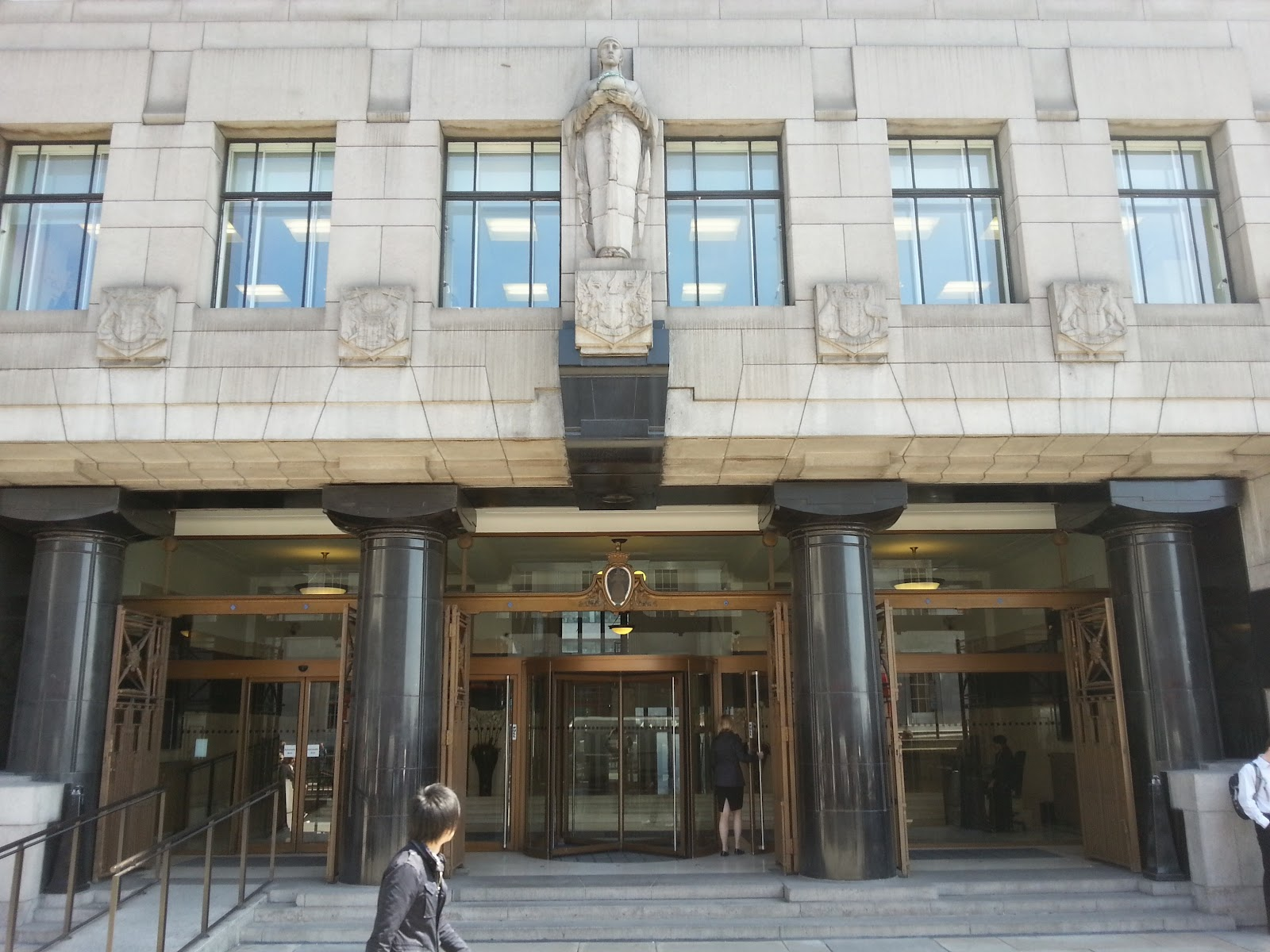 Entrance to Adelaide House