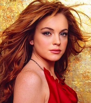 lindsay lohan red hair-10