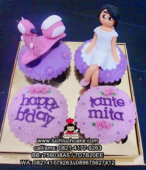 Cupcake Vespa Cantik Daerah Surabaya - Sidoarjo (REPEAT ORDER)
