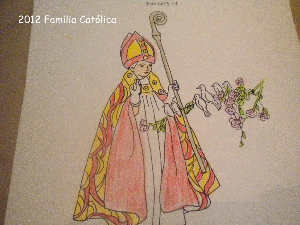 Familia Católica: Páginas para colorear para el día de San Valentín