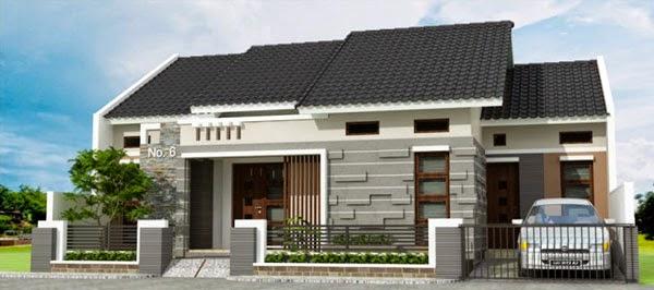 Denah Desain Rumah Sederhana 3 Kamar Classic Arsitektur Contoh Tidur