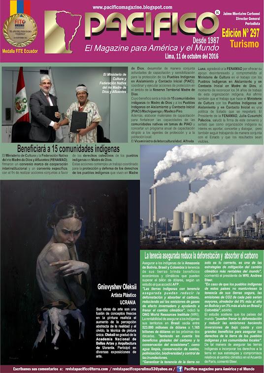 Revista Pacífico Nº 297 Turismo