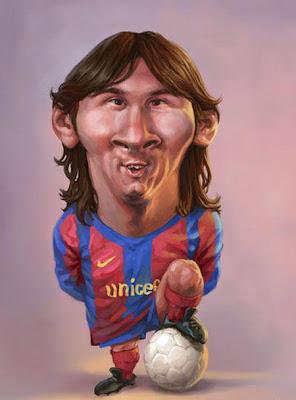 Lionel Messi 2013 Funny Cartoon Barcelona Hd Desktop Wallpaper