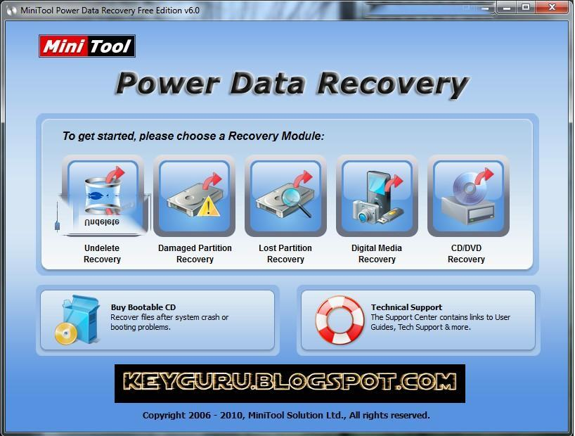 MINI TOOL POWER DATA RECOVERY FULL VERSION WITH CRACK LICENSE SERIAL