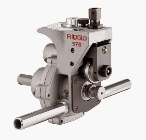 Ridgid 25638 Combo Roll Groover Specs