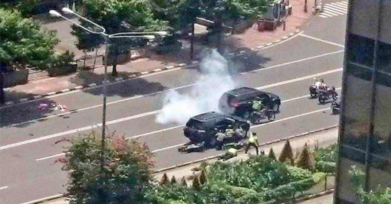 Polisi Temukan Enam Bom di Sarinah
