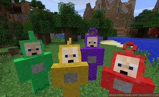 Teletubbie Mod para Minecraft 1.7.10
