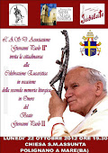 2° memoria Liturgica Beato Giovanni Paolo II