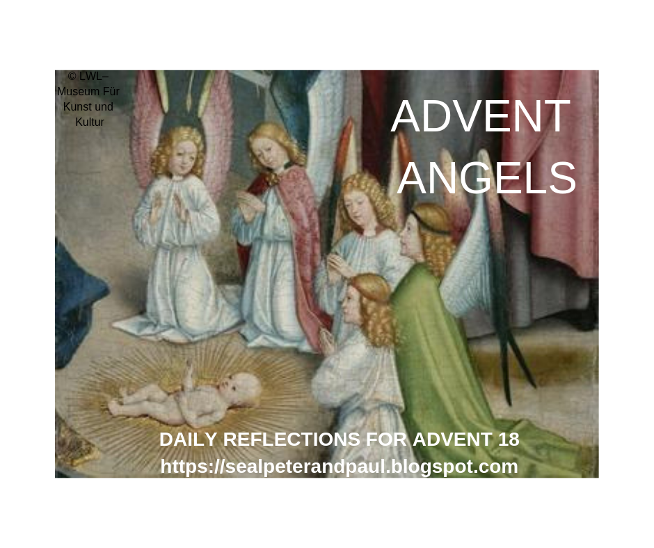Advent Angel Reflections