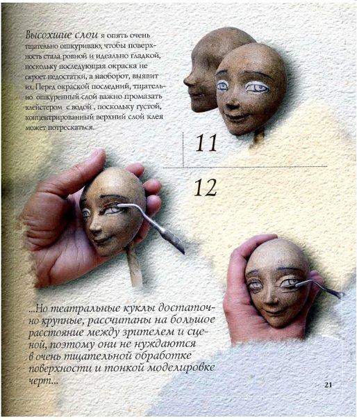 Кукла из папье маше своими руками