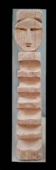 REHUE   CERAMICA GRES emulando madera 55 cm . altura