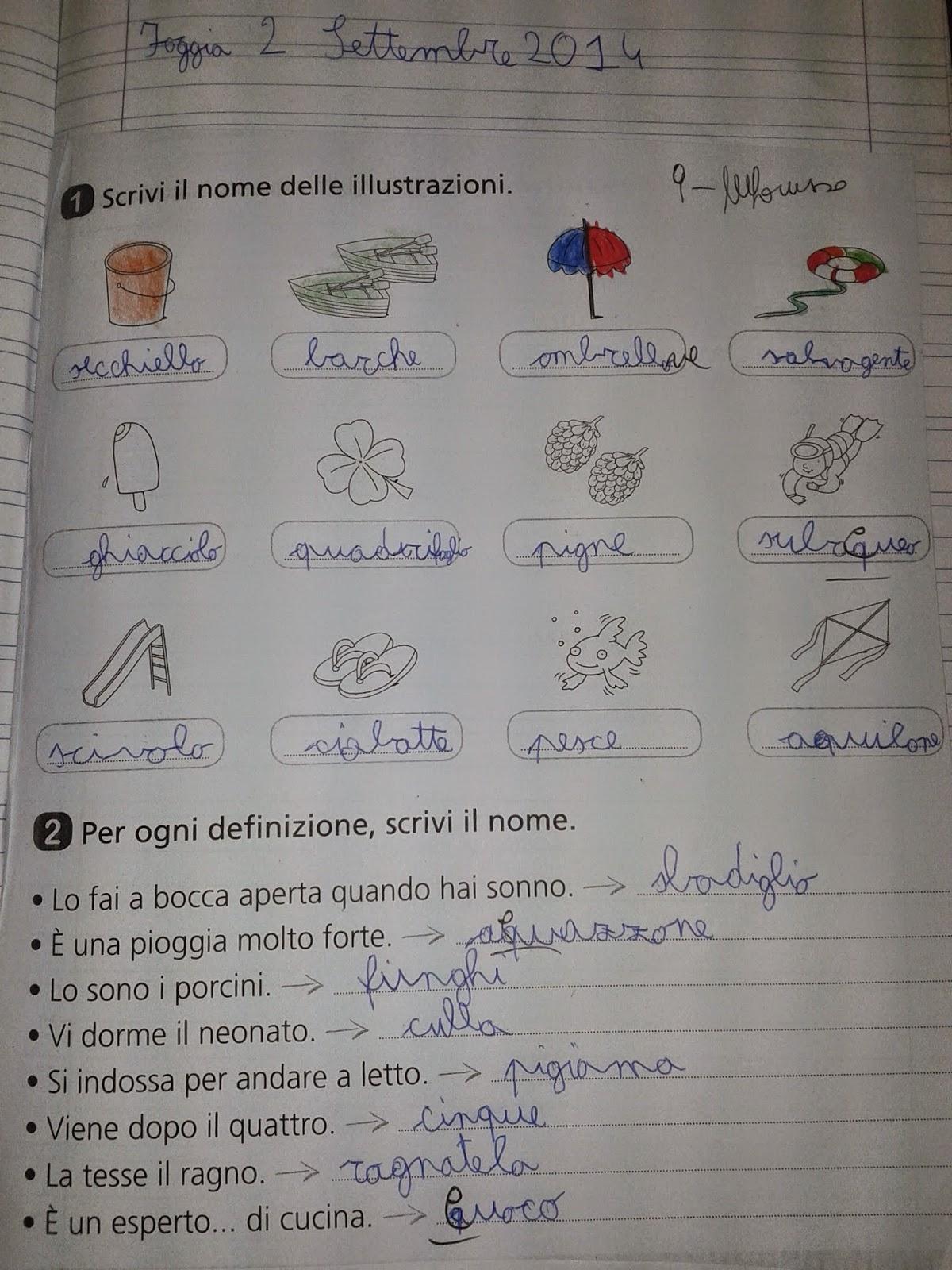 Souvent LA MAESTRA MARIA TI SALUTA: ITALIANO- RIFLESSIONE LINGUISTICA 3^C  CY13