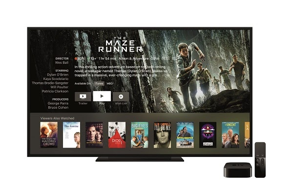 Apple debuts new Apple TV with tvOS