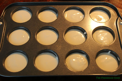 batter for cheesecakes, mini cheesecakes