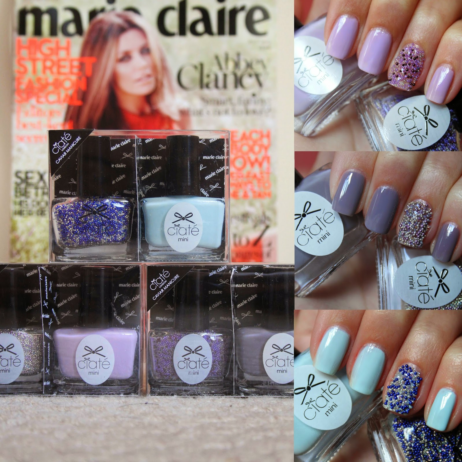 Elaine Nails: Free Ciate with Marie Claire