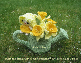 Daffodil Spring Fairy Amigurumi Crochet Pattern : Anything Knitted and Crocheted: March 2012