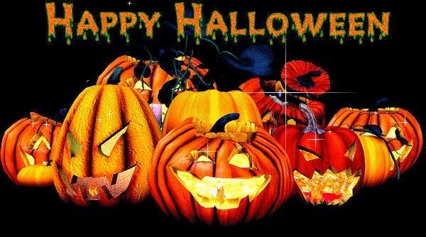 SMS et  message  Halloween