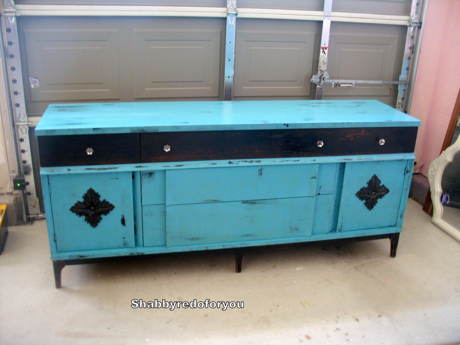 cadenza furniture. Cadenza Furniture. Shabby Vintage Buffet Or Redo In Aqua And Black Furniture