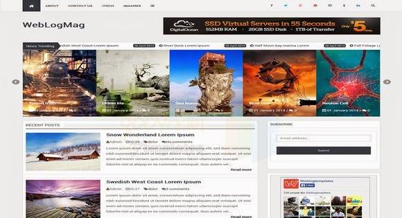 Share WebLogMag Blogger Template đẹp tuyệt