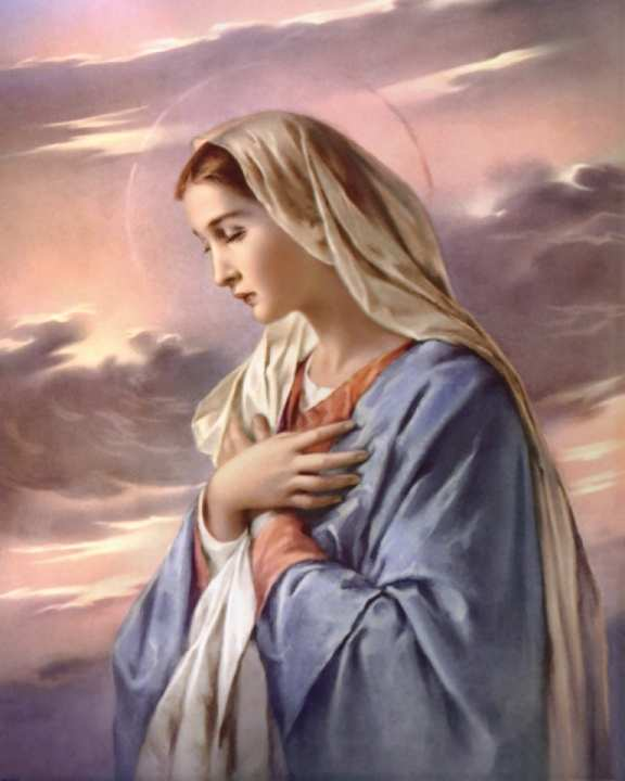 Real and perpetual virginity of mary