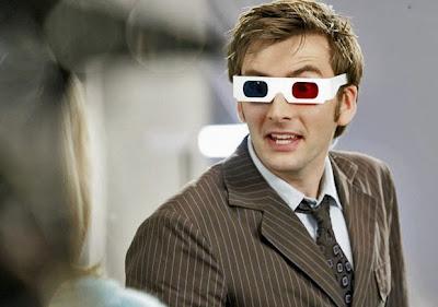 Semana Whovian. Objetos Doctor Who, Gafas 3D