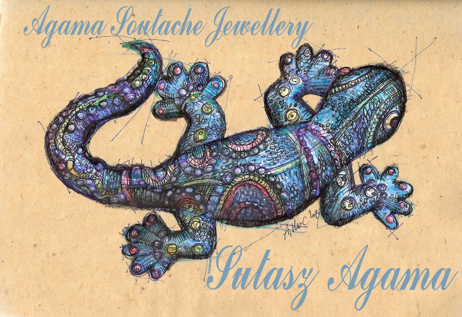 #Sutasz Agama - Soutache Agama Jewellery