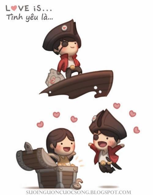 Love is - Tình yêu là gì