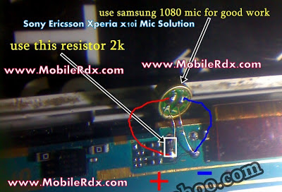 sony+ericsson+x10+mic+solution+jumper - Sony Ericsson Xperia x10i Mic Solution Jumpers