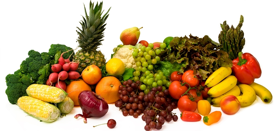 veggies and fruits. more fruits and vegetables