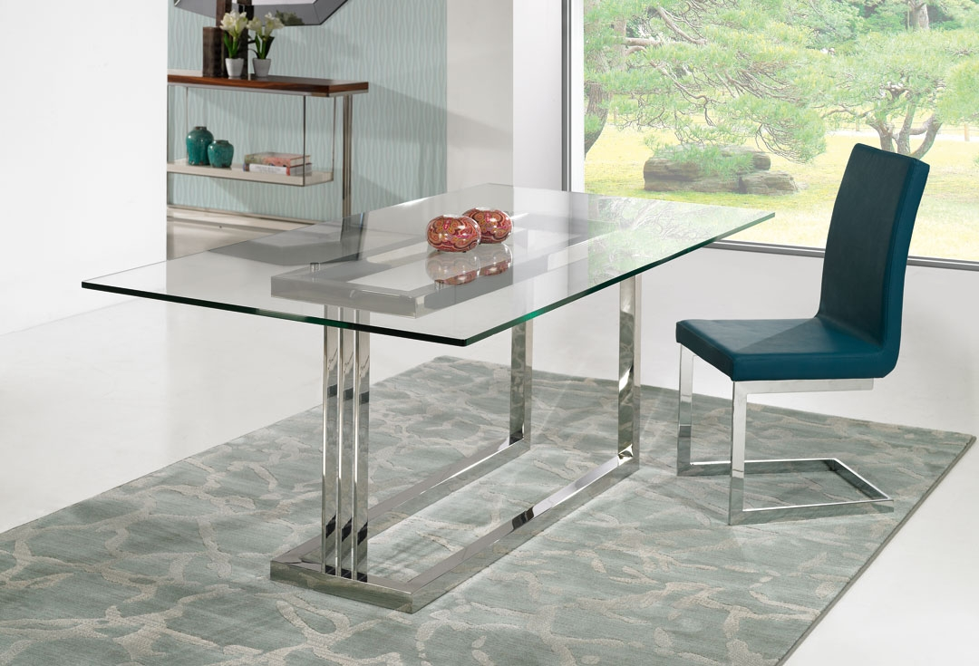Base de mesa e de cadeira em a o inox design inox for Bases de mesas cromadas