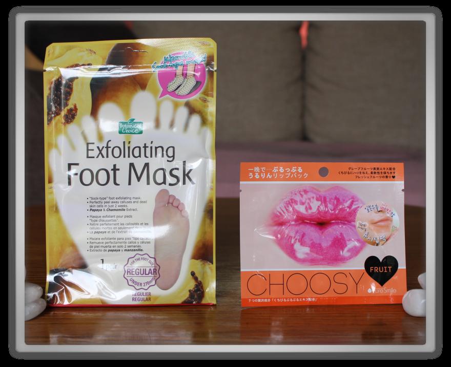 겟잇뷰티박스 by 미미박스 memebox beautybox #the mask edition #2 unboxing review preview box purederm exfoliating foot mask pure smile choosy lip pack