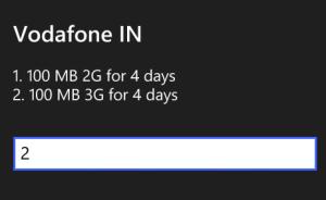 vodafone free 3g internet pack