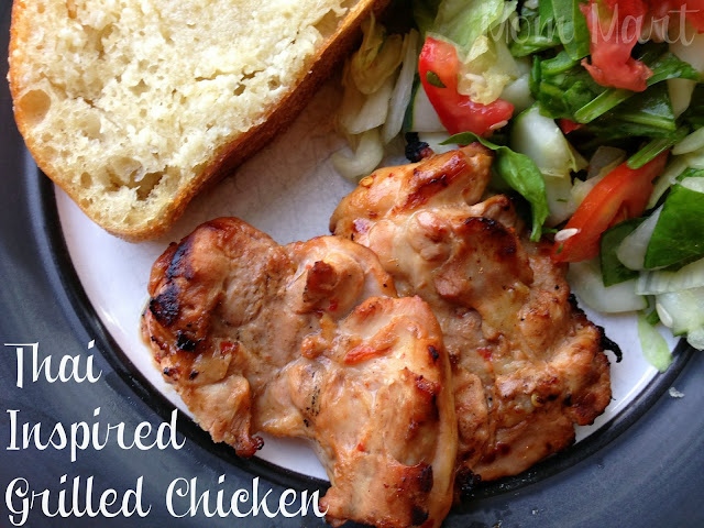 Thai Inspired Grilled Chicken Recipe #Foodie #Recipe #WhatsForDinner
